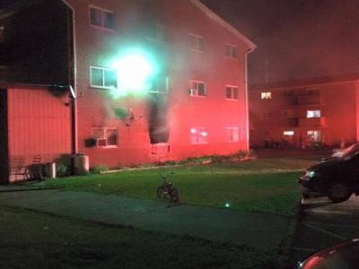 伦敦东部公寓发生火灾损失估计达$100,000