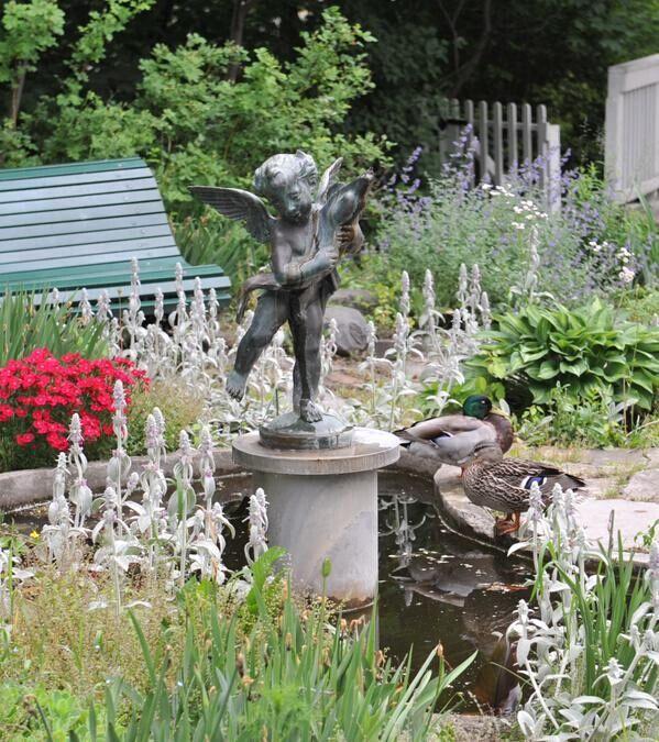 Eldon House一尊雕像被偷