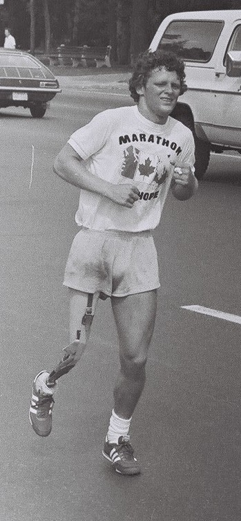 35th Annual Terry Fox Run Goes Today in Springbank Gardens