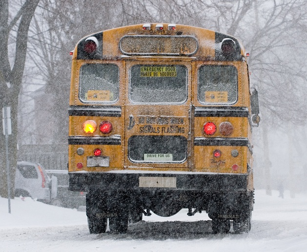 School Buses Cancelled for Five Schools North of London