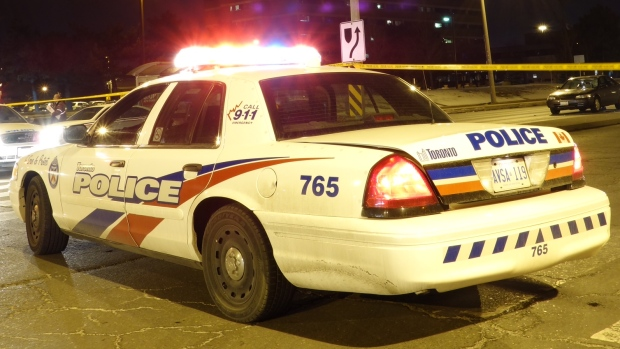 A Toro<em></em>nto police cruiser is pictured in this file photo. (CP24/Tom Podolec)