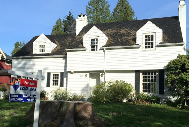 大溫哥華地區11月房屋銷售數目,比去年同期下跌三成七。(美世資料照片)