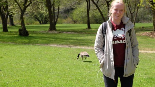 加拿大滑铁卢大学生物系二年级女生凯特